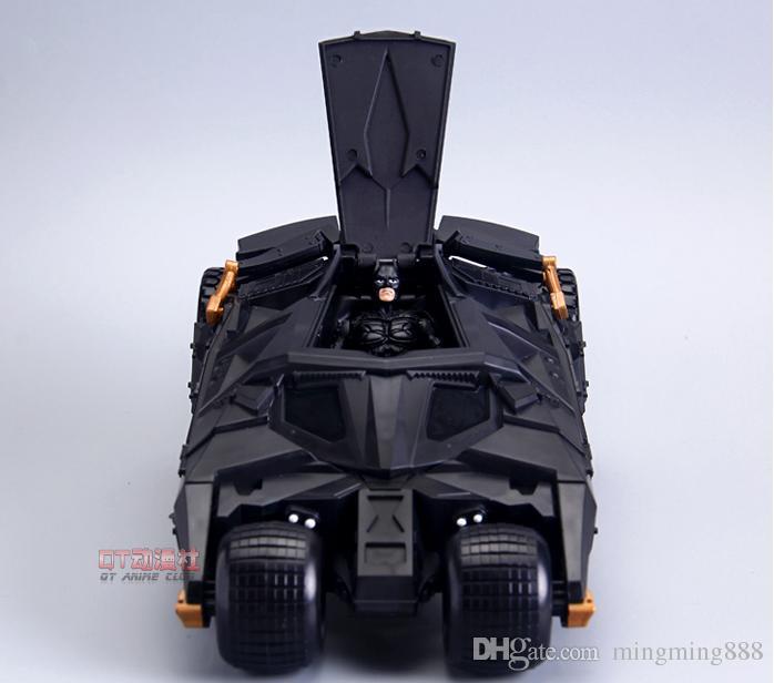 فارس الظلام باتمان BATMOBILE البهلوان سيارة سوداء vehecle اللعب مع الشكل