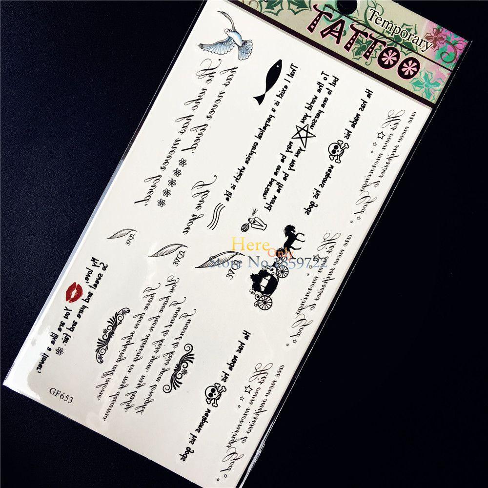 2pcs Dare To Dream Flying Bird Infinity Loop Tattoo Inknart Beb8e856 Bekhauphindianews Com