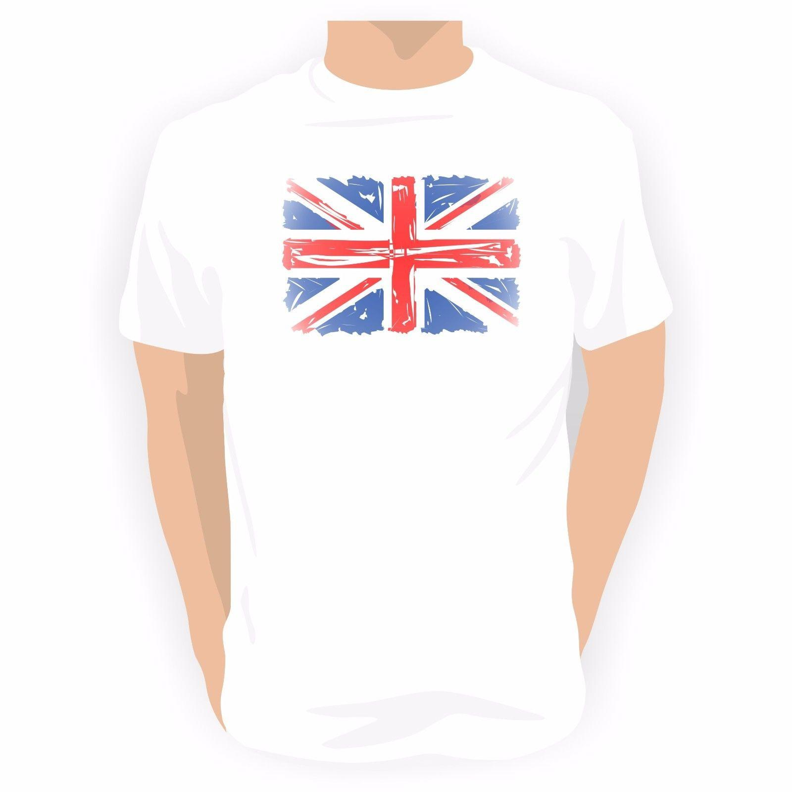 Union Jack Mens T Shirt British Supporters Flag great for events Funny free shipping Unisex Casual tshirt gift