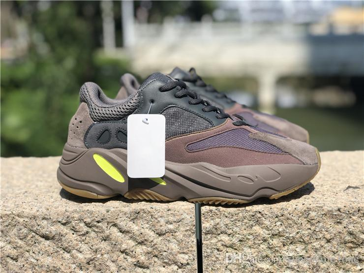 8ceb2a597f8 2018 Release 700 Mauve Wave Runner Kanye West Sneakers Running Shoes ...