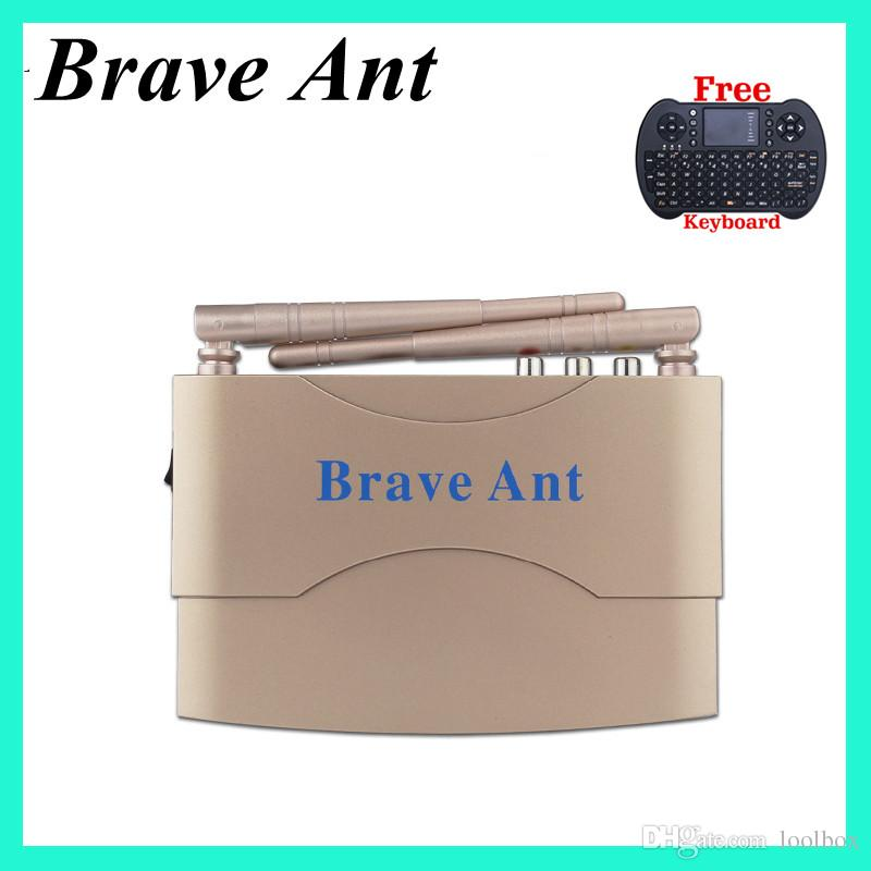Arabic iptv box, lifetime free arabe lebanon turkish europe france africa live tv channels Brave ant smart TV box free keyboard powerful