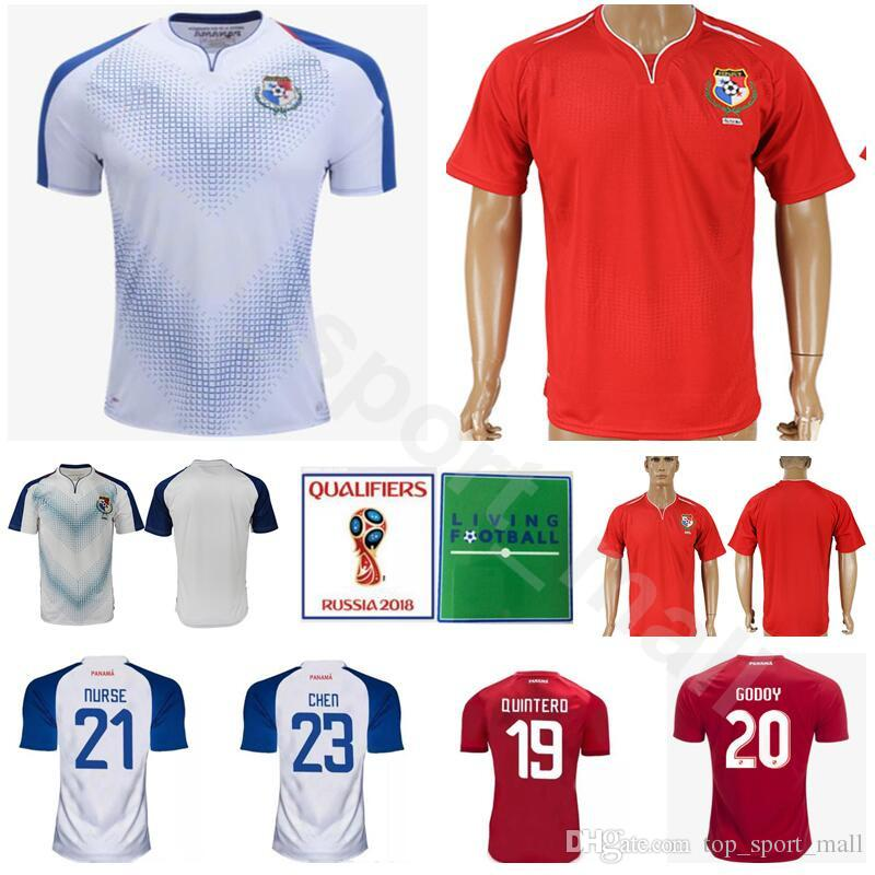 new product 828c4 ee074 World Cup 2018 Panama Football Shirt Kits Men 23 BALOY 1 PENEDO 19 QUINTERO  23 CHEN 10 CAMARGO Soccer Jersey Thai National Team Personalized