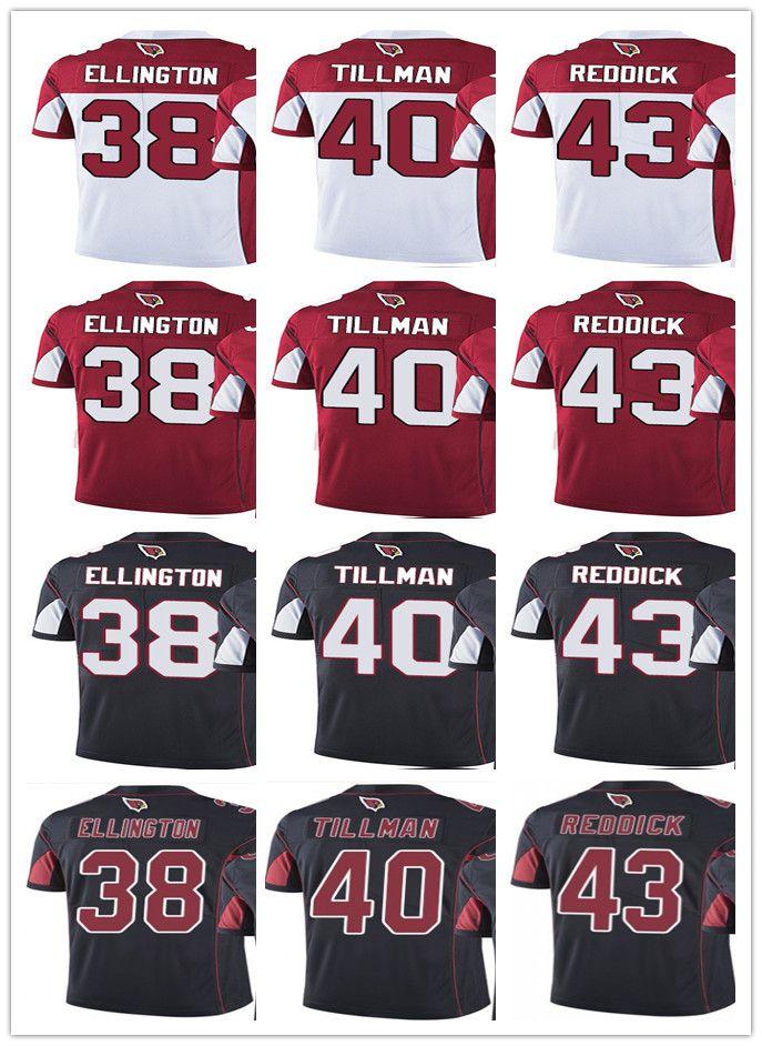 93774a0b354e Cheap Custom Arizona Cardinal Jersey Men Women Youth  38 Andre Ellington 40  Pat Tillman 43 Haason Reddick Vapor Limited Jerseys