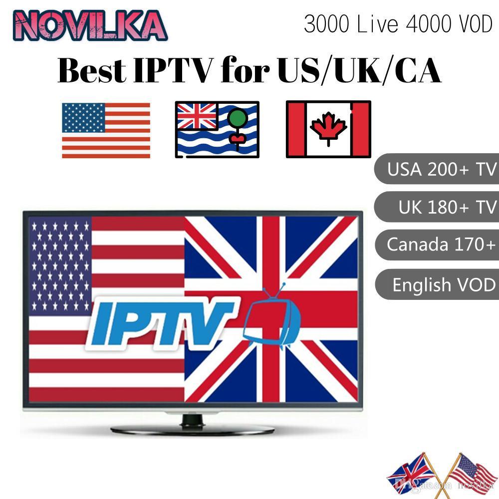 12 Months UK USA Canada IPTV Subscription for Android TV Box  Firestick/SmartTV/M3U/4000 LIVETV channels 2000 VOD English iptv