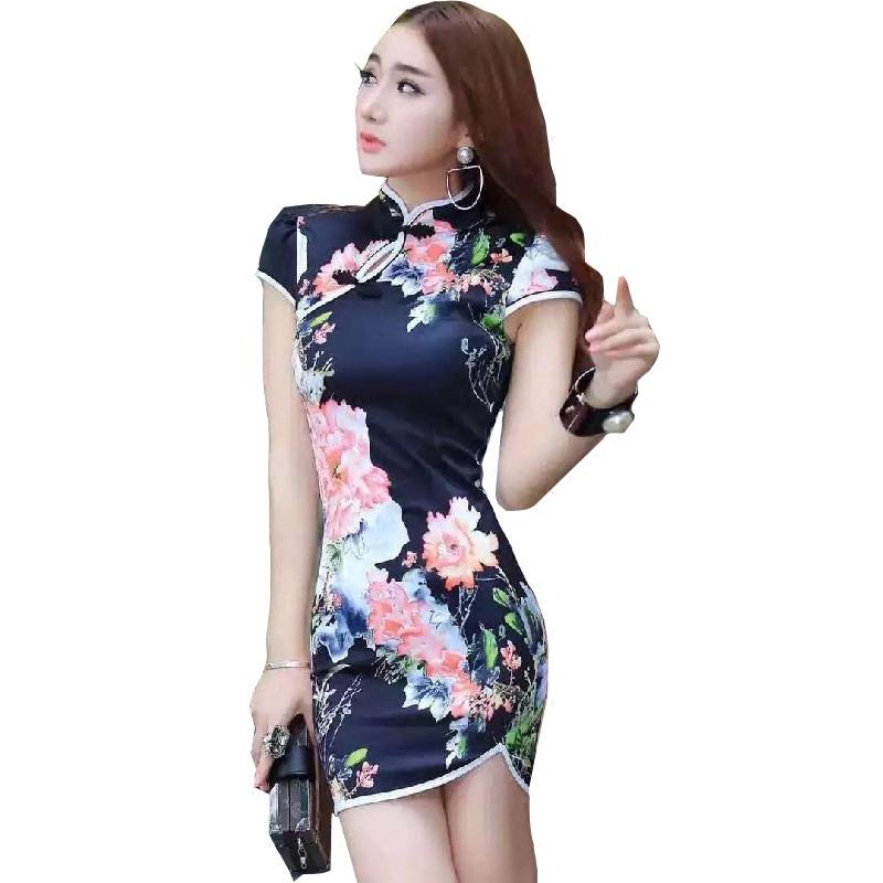054d3474d66e 2018 Summer Red Traditional Chinese Womens Silk Rayou Halter Long ...