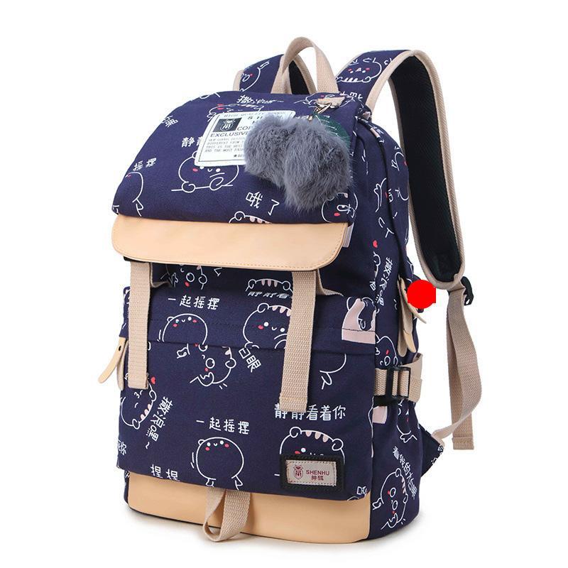 Pink sugao designer backpack large capactiy fashion backpacks canvas school bookbag shoulder bags choose for travel and school
