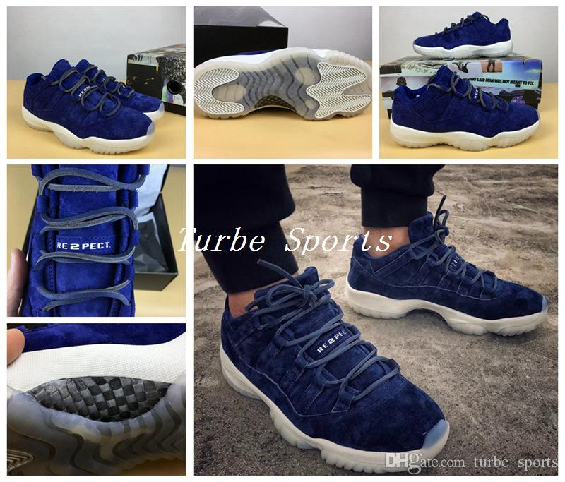 df276b159169b3 menswomens air jordan 11 jeter re2pect basketball shoes navy bluewhite