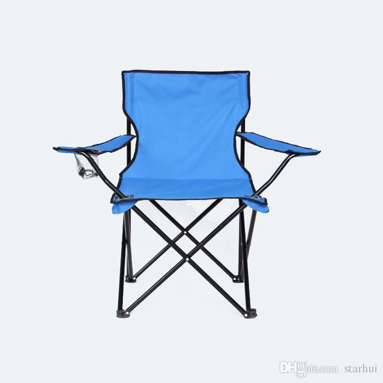 Crianças Dobrável Acampamento Cadeira Com Correspondência Sacola Multi-Função Dobre Cadeiras De Pesca De Praia Cadeira Ao Ar Livre Pode Colocar Copo WX9-662