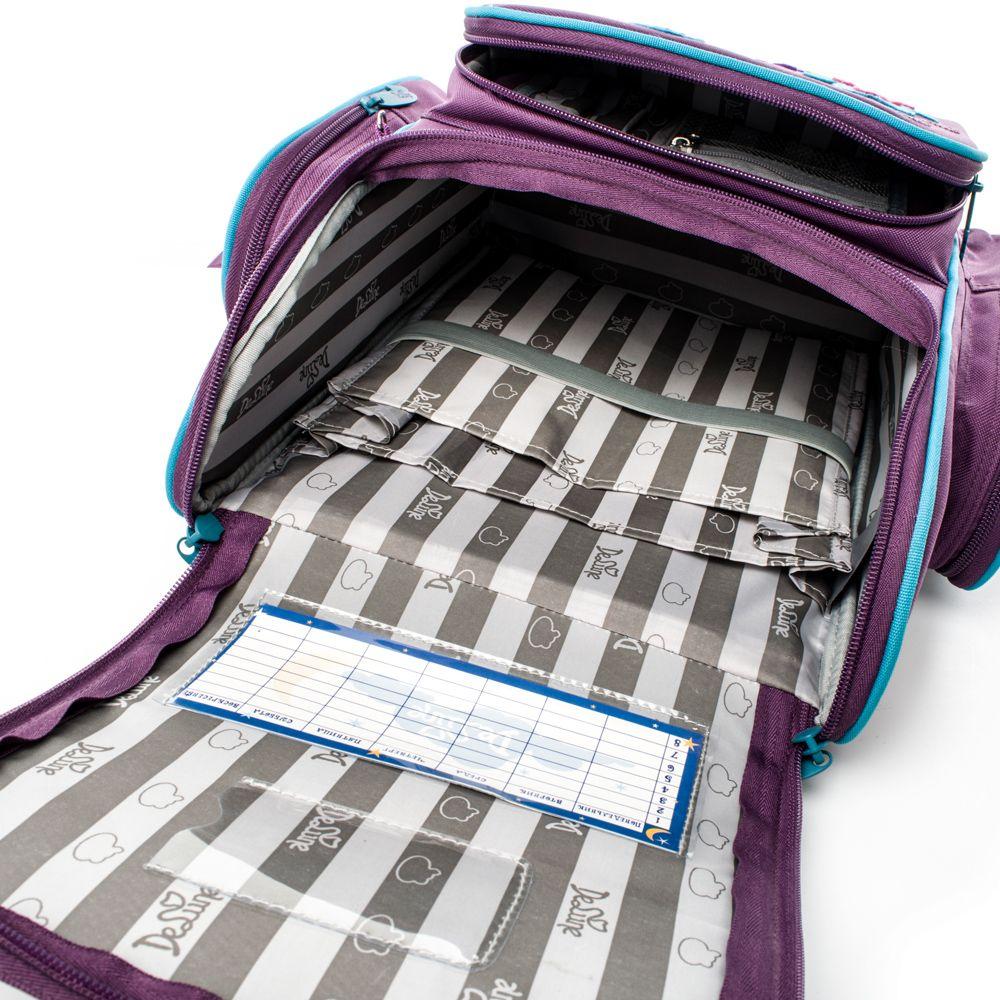 Delune School Bags for Boys Girls Children Primary Student Orthopedic Backpacks Kids Schoolbag Kids Book Bag 1-003 4 In Russian