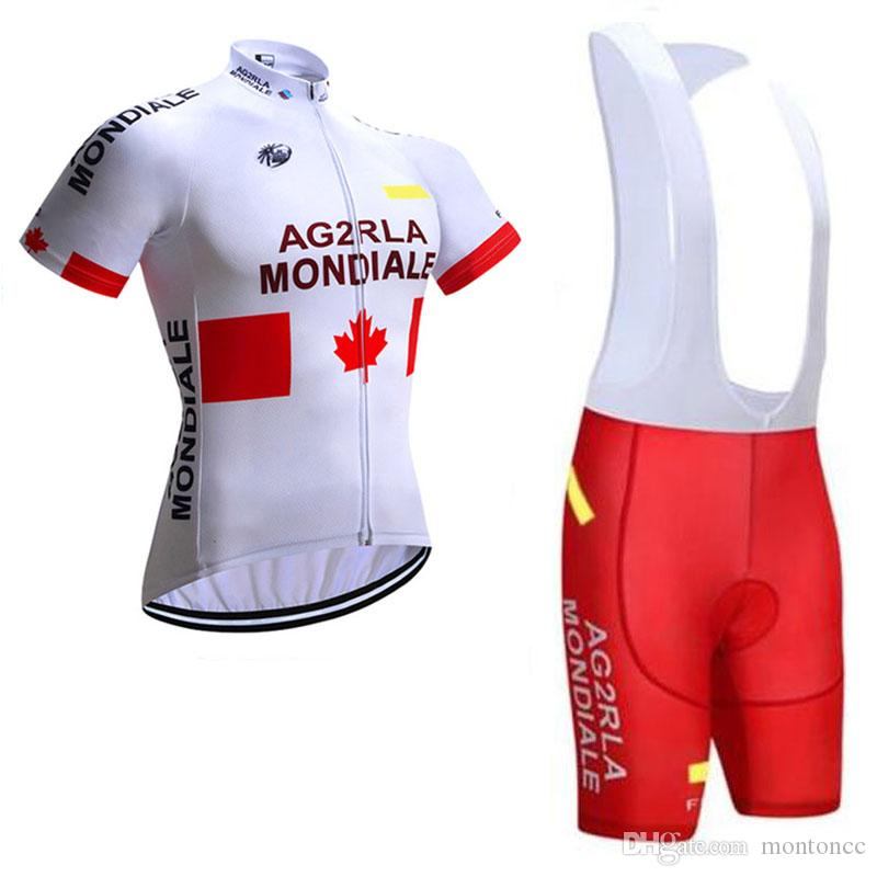 08e4be32c AG2R Team New Comming Cycling Short Sleeves Jersey Bib Shorts Sets Mountain  Bike Clothes Quick Dry Cycling Sets Breathable C0701 AG2R Cycling Jersey  Ropa ...