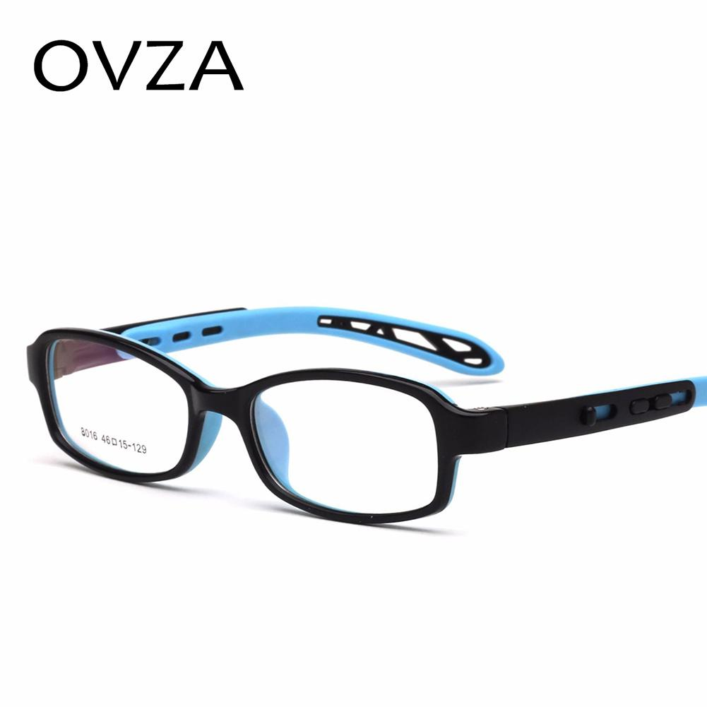 121992e1b0 2019 OVZA 5 13 Years Old Kids Optical Glasses Frames TR90 Silicone Children  Glasses Optical Frame Ultralight Frames S7044 From Buafy