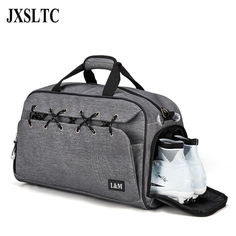 New Fashion Travelling Bags Oxford Cloth Women Luggage Travel Bag Men  Handbags Overnight Tote Workout Bag With Shoe Compartment Dakine Suitcase  Waterproof ... 38294b59a09b7