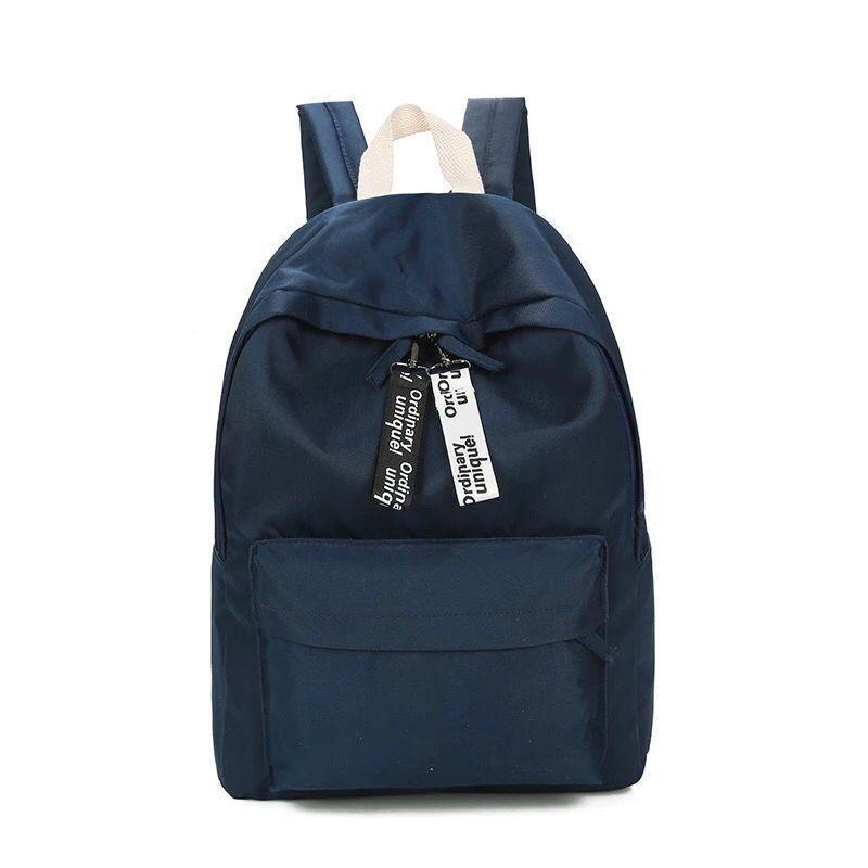 07c4740e4e Annmouler Preppy Style Women Backpack Cute Waterproof Backpacks Rucksack  Solid Color Black Daypack High Quality Girls School Bag Jansport Backpacks  School ...