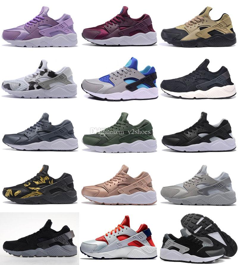 438747923086 Hot Sale 2017 New Style Air Huarache 1 Ultra Run Sports Shoes Men Women  Huaraches Running Shoes Trainer Sneakers Shoes Size US5.5 11 Sneakers Sale  Womens ...