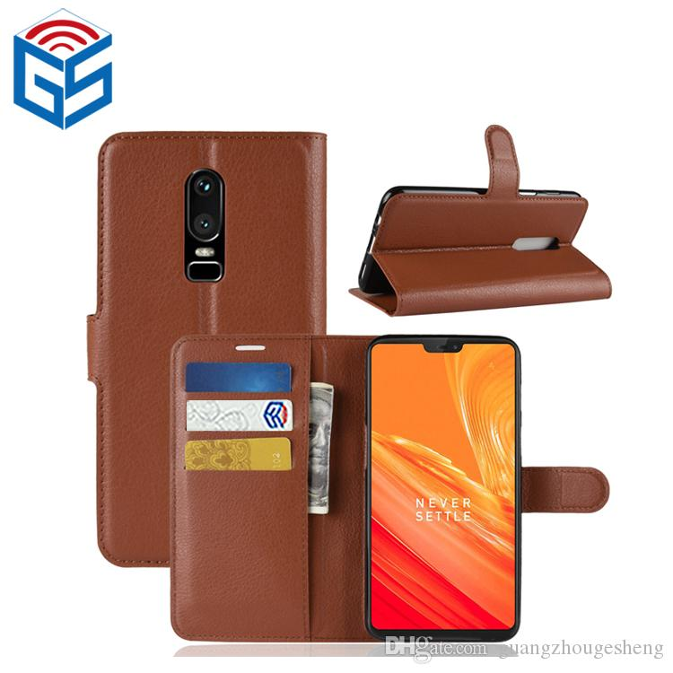 For Oneplus 6 5T 1+5T Premium PU Leather Wallet Case Cover with Card Slot Most Popular Products