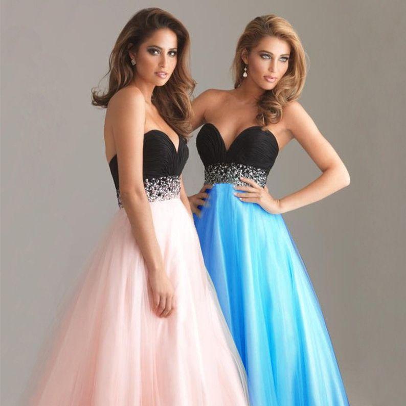 2018 Bra Sequins High Waist Evening Party Dresses Long And Ground ...