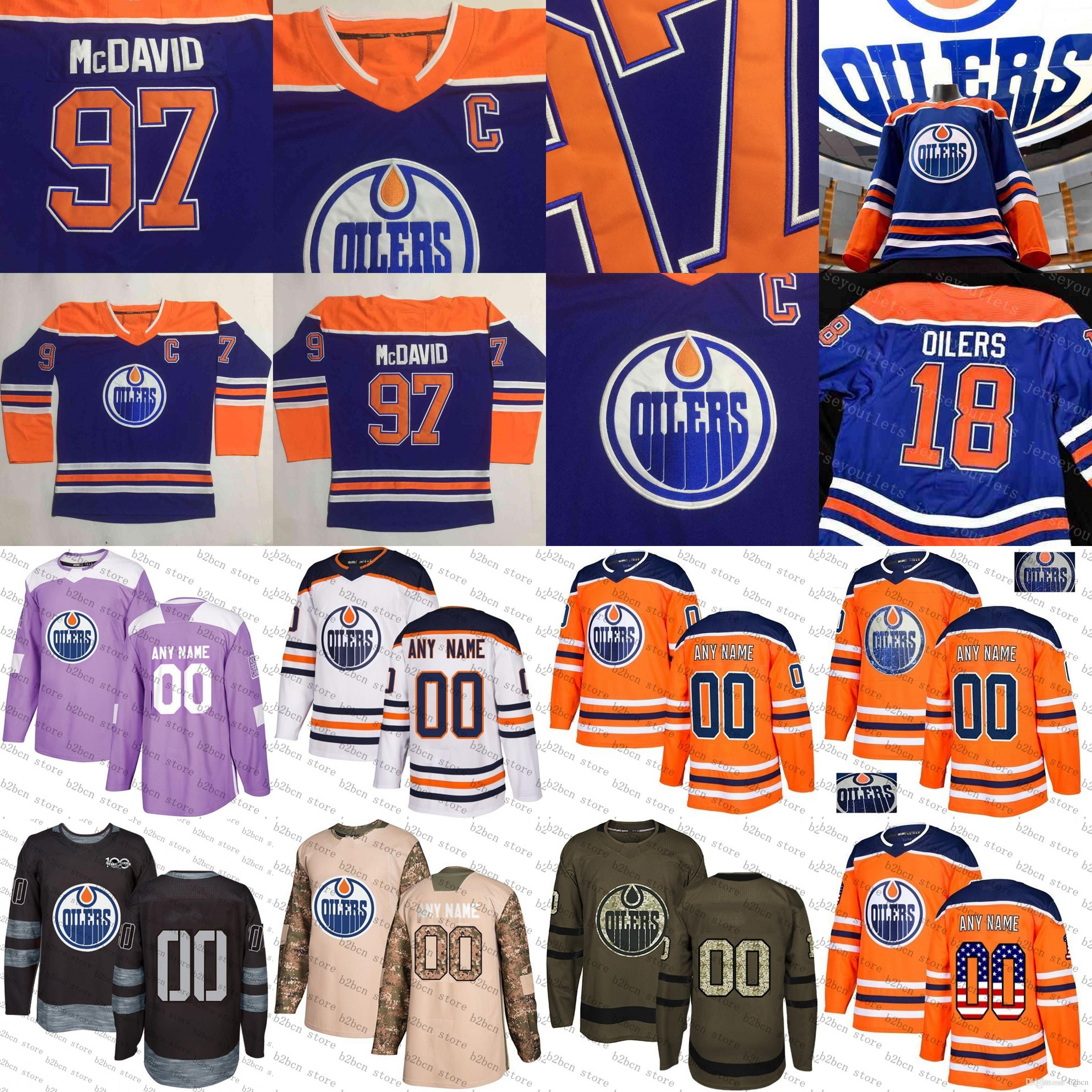 ... where can i buy 2019 40th anniversary patch 2018 2019 edmonton oilers  uniform 27 milan lucic 03fc24580