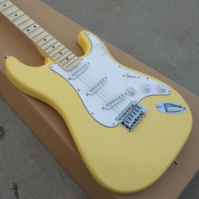 Satın Al Taraklı Klavye St Elektro Gitar Maple Klavye Ile Basswood