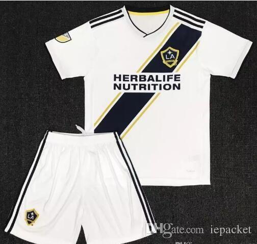wholesale dealer e625b 9ba3c 2018 19 Los Angeles Galaxy Home Soccer Jersey kit Uniform Graal Beckham  Giovanni Giovanni Karmara Jersey Lletget.ZARDES Free Shippin
