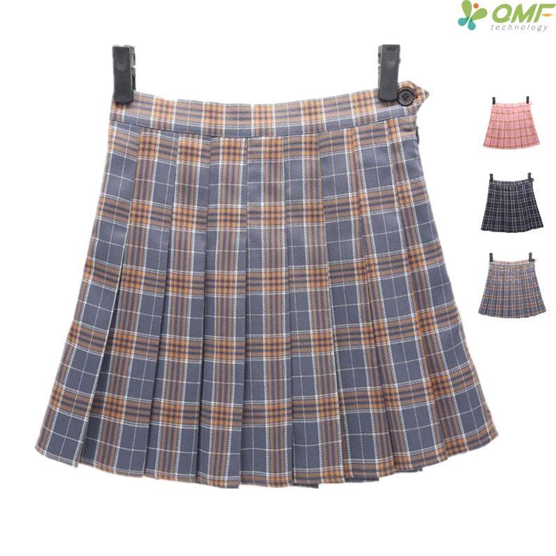 6304a9a68 Diseño de tartán Faldas de tenis Corto Ocio Uniforme escolar A cuadros  Pettiskirt Deporte Kilts Verano Mujeres Compruebe patrón Mini faldas