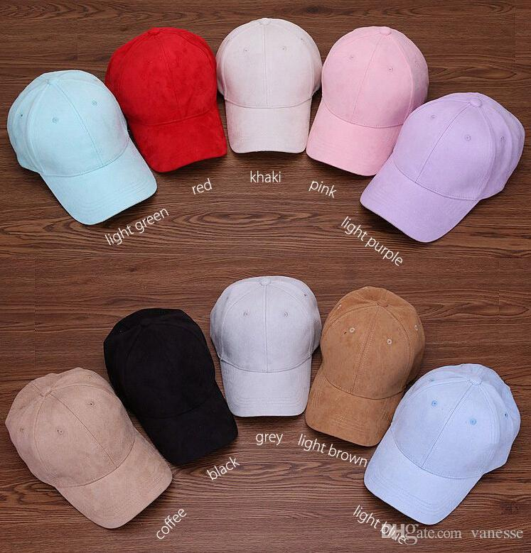 305d82b1bcf 2019 Wholesale Plain Suede Baseball Caps With No Embroidered Casual Dad Hat  Strap Back Outdoor Blank Sport Cap And Hat For Men And Women From Vanesse