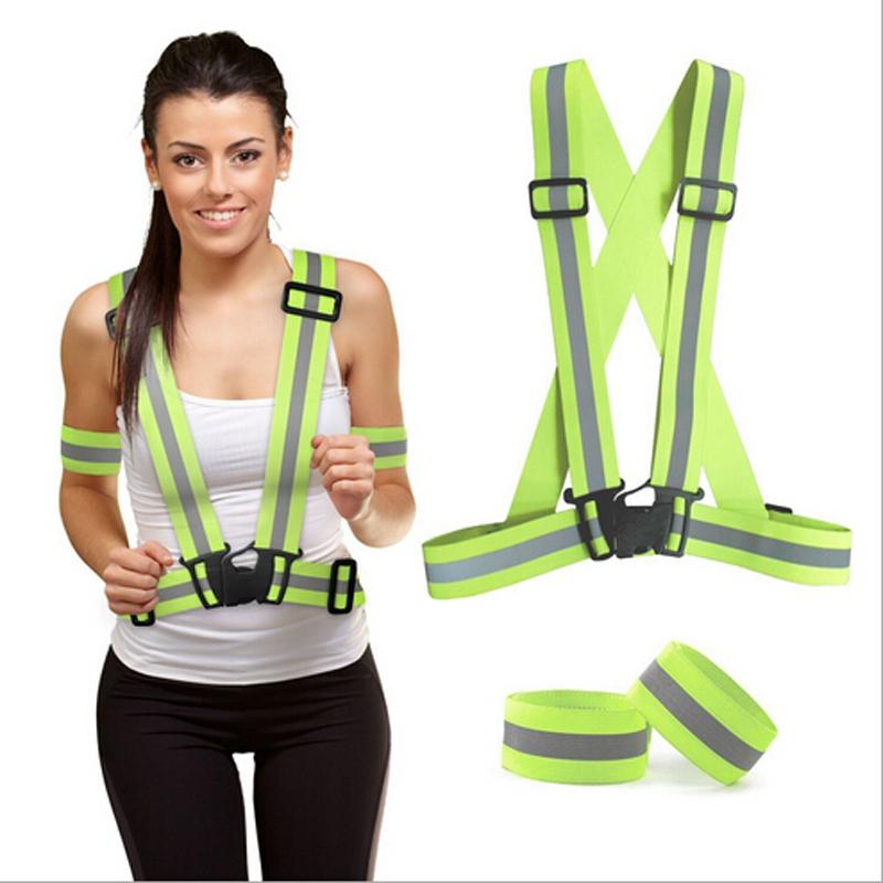 Night Trafficamp; Yards Reflective Yellow W Warehouse Safety Vest Big Activityamp;cycling For Construction Fashion BoWerdCQx
