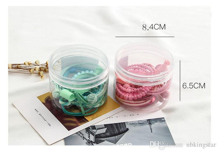 girls cute bow rubber hair bands candy color gum headwear hair accessory for children women