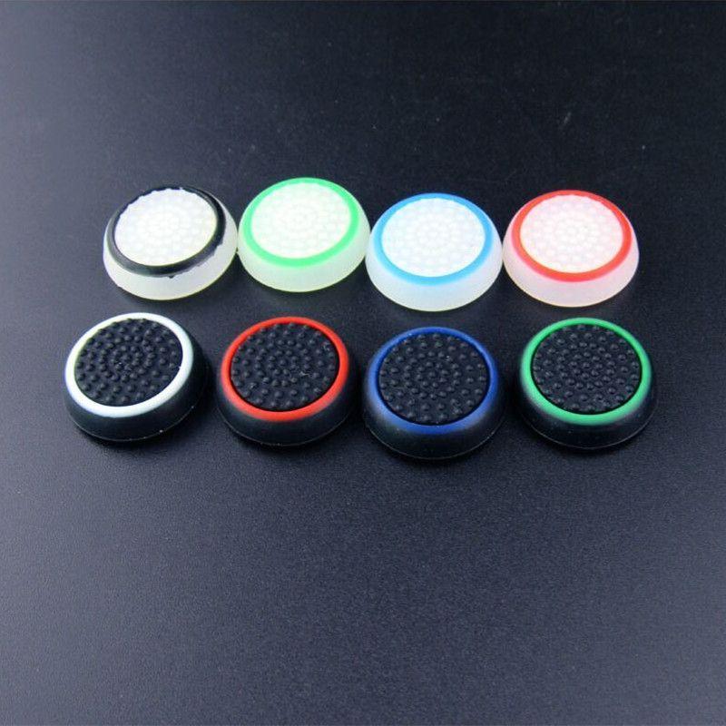 Syytech لون مزدوج الإبهام عصا قبضة TPU كاب عصا جويستيك يغطي ل PS4 Xbox One / 360 PS3 Controller