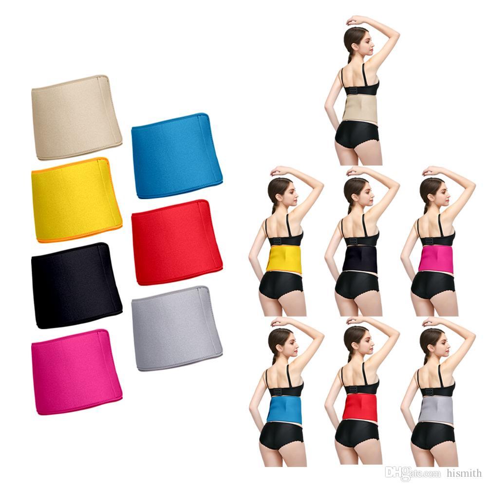 884ff5bc34 Men Women Belt Slimmer Exercise Ab Waist Wrap Waist Cincher Trimmer ...