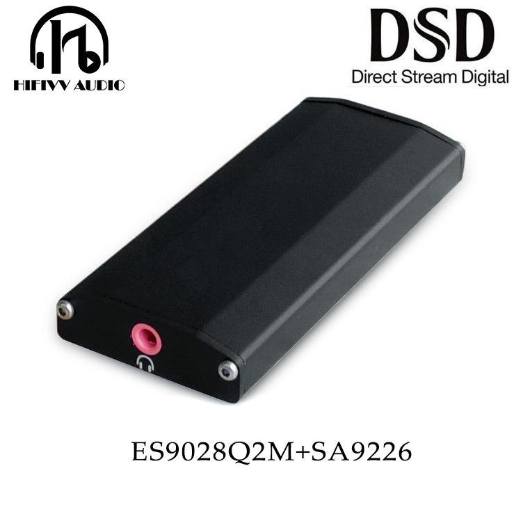 Es9018k2m Usb Tragbare Dac Hifi Usb Externe Audio Decoder 32bit 192 Khz Für Verstärker Amp Tragbares Audio & Video