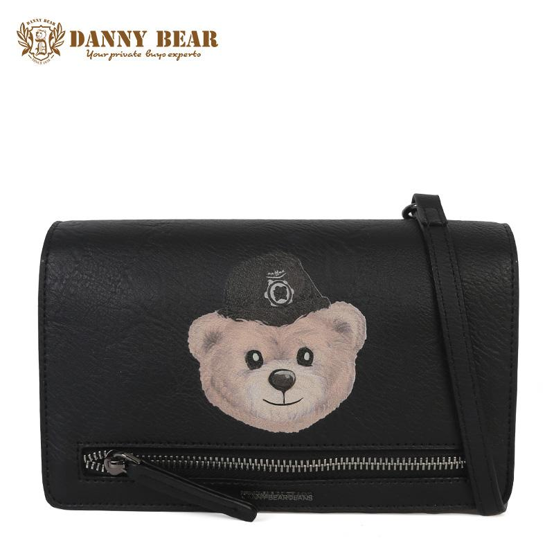 3b9392d74a DANNY BEAR Women Small Leather Crossbody Bag Brand Cute Girl Shoulder Bag  Fashion Vintage Messenger Handbag Bolsa Feminina Crossbody Bags Messenger  Bags ...