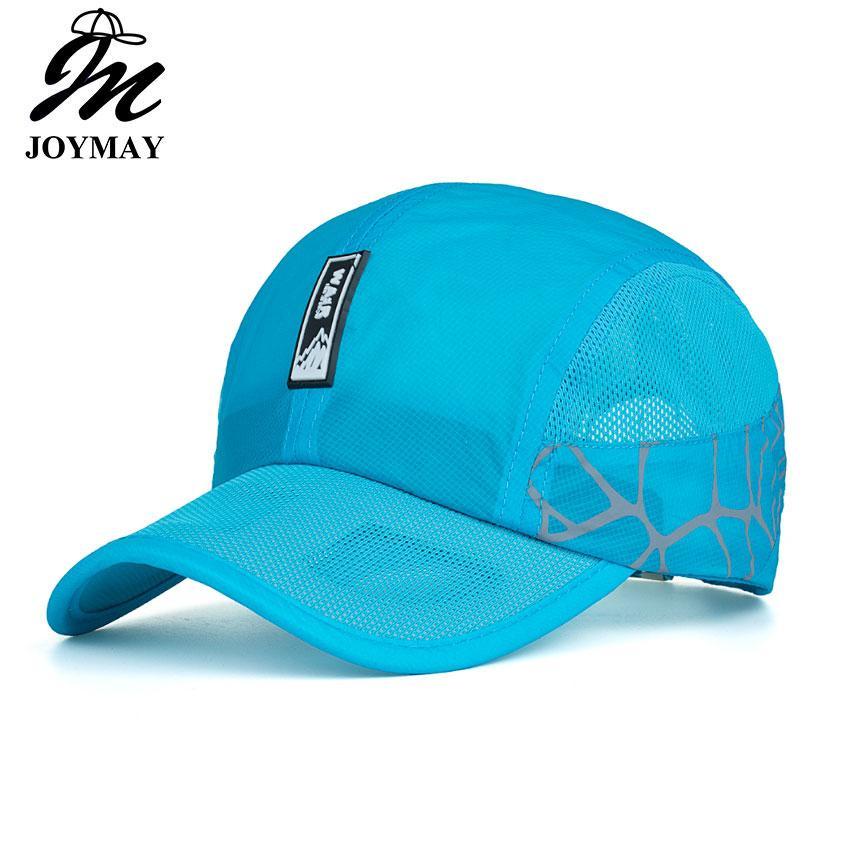 JOYMAY Summer New Sun Hat Sport Outdoor Quick-drying Cap Super Light Weight Mesh  Baseball Caps Mixed Wholesale B532 Mesh Baseball Caps Quick Drying Cap Mesh  ... 19ce09dcc908