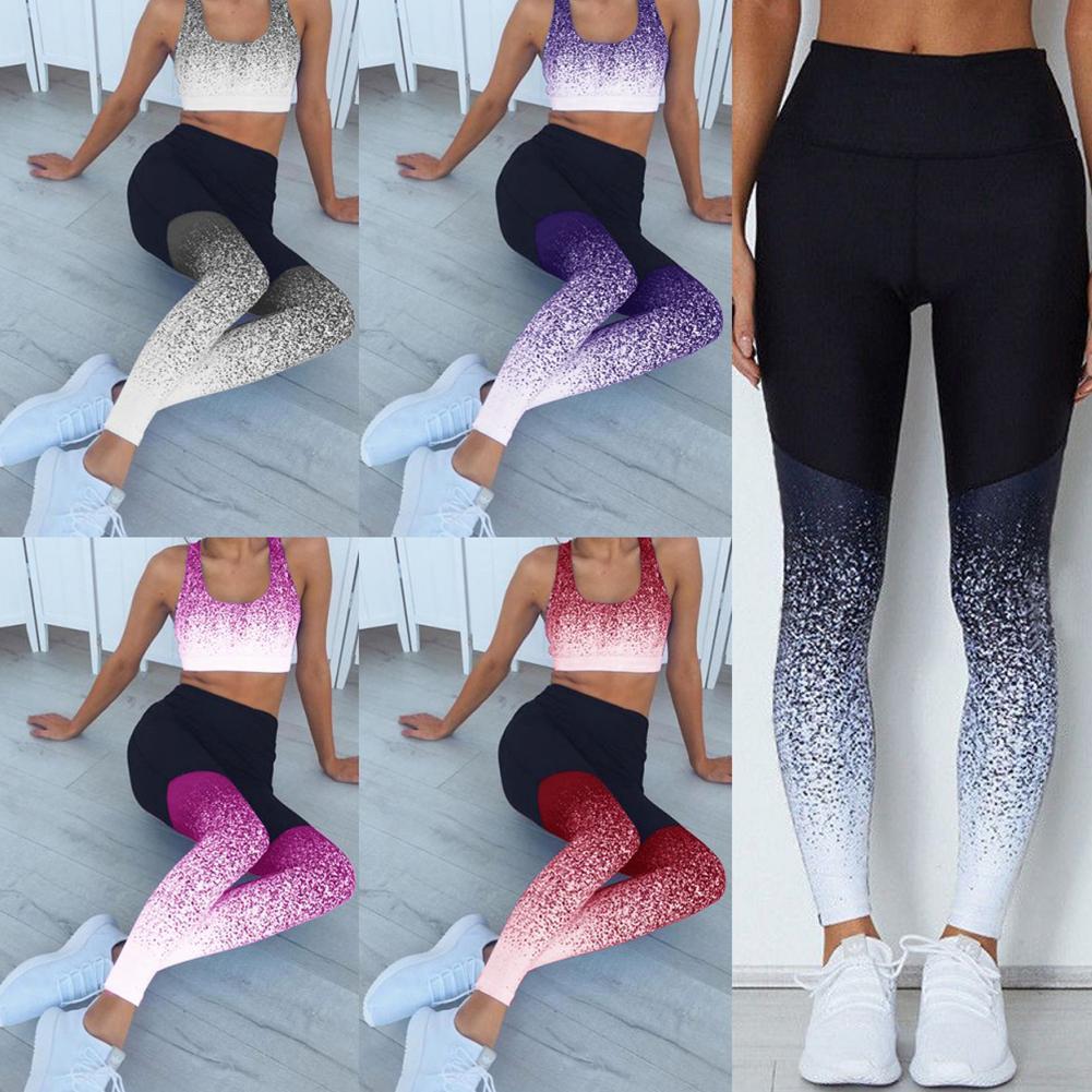 Acheter Chaude Femmes Yoga Leggings Fitness Sport Athlétique Gym Femme  Vêtements De Sport Exercice Courir Jogging Pantalon Pantalon Active Wear De   38.93 Du ... 77e936d41ea