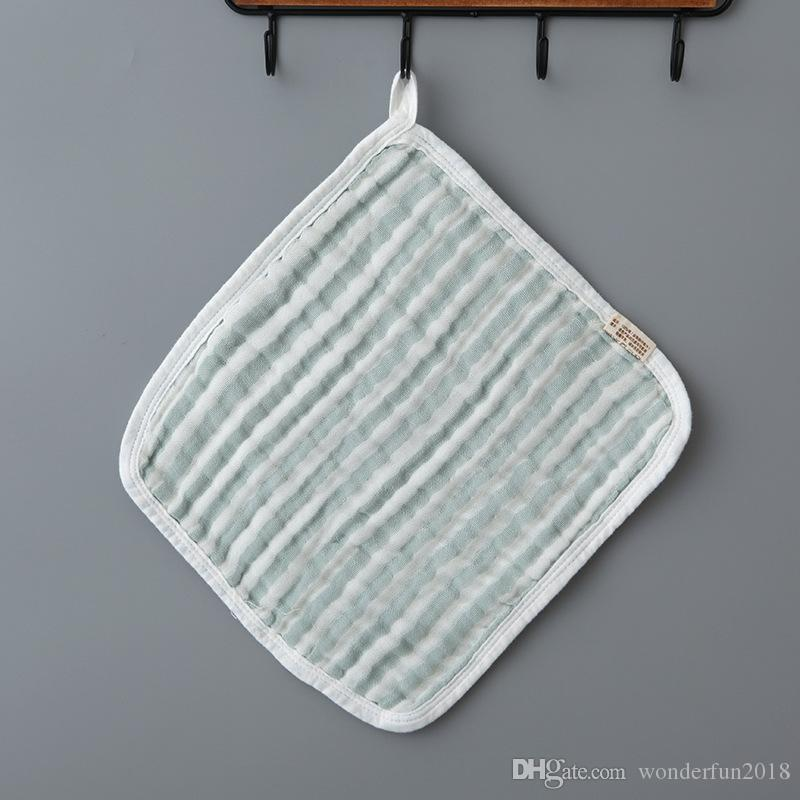 Cute softable 6 layers milk cotton gauze Baby Infant Drool bath towel Bibs & Burp Cloths baby care feeding