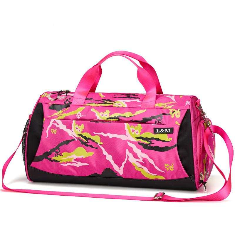 New Men Gym Sport Bag For Women Fitness Yoga Training With Shoes