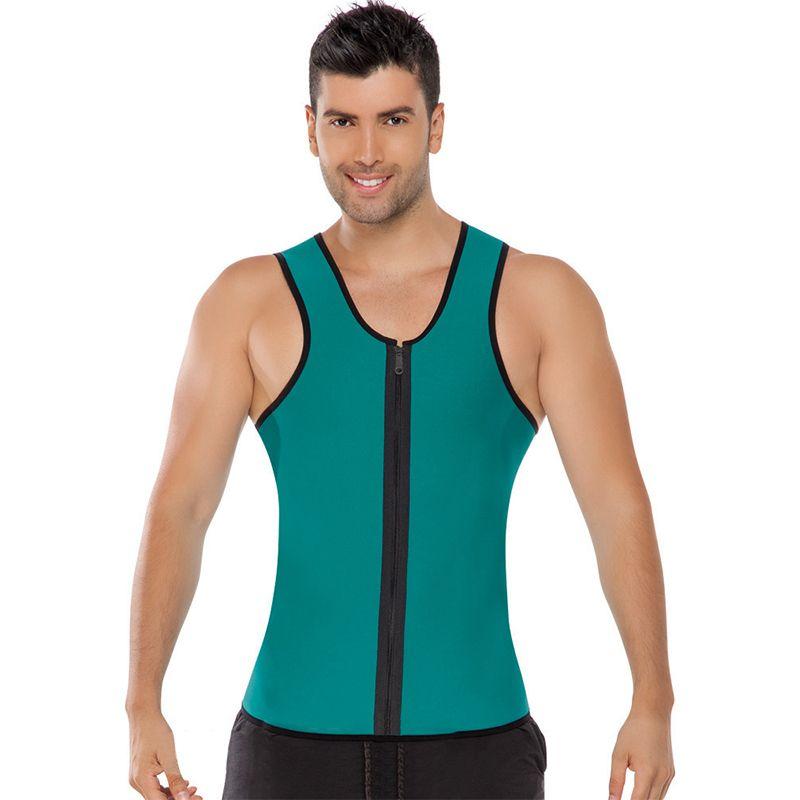 64a130e719215 Men s Neoprene Shaper S-4XL Vest Tank Tops Shapewear Tummy Control ...