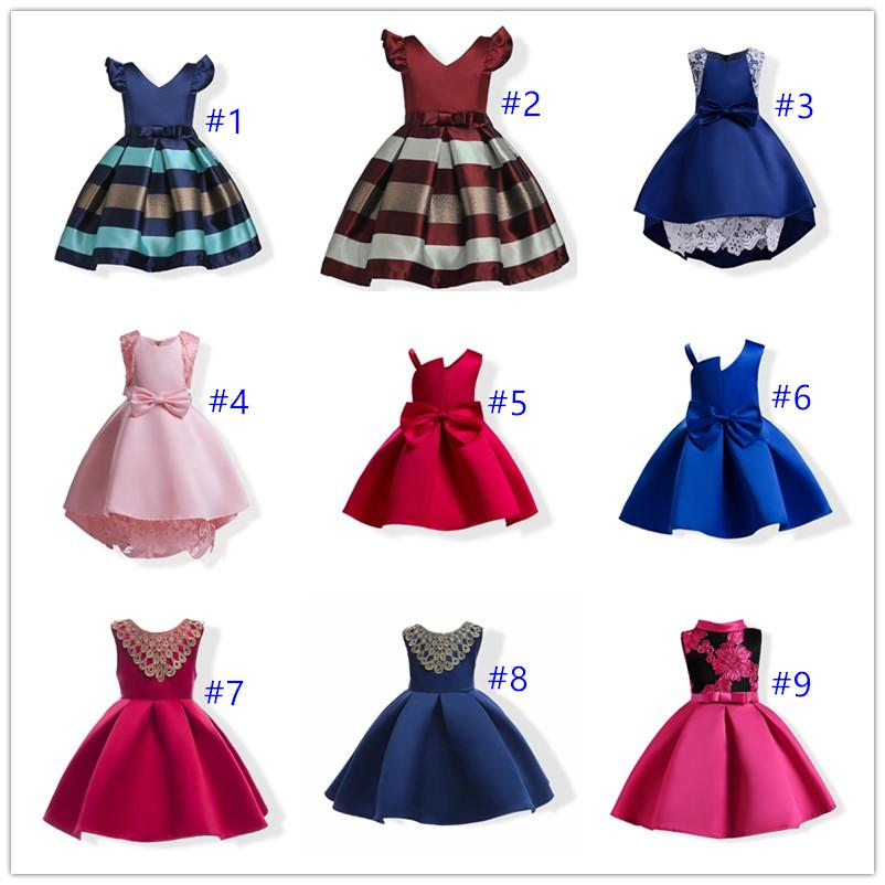 ba94941b35c526 2019 Baby Girl Embroidery Silk Princess Dress For Wedding Party Kids Dresses  For Toddler Girl Children Fashion Christmas Clothing From Hello kids