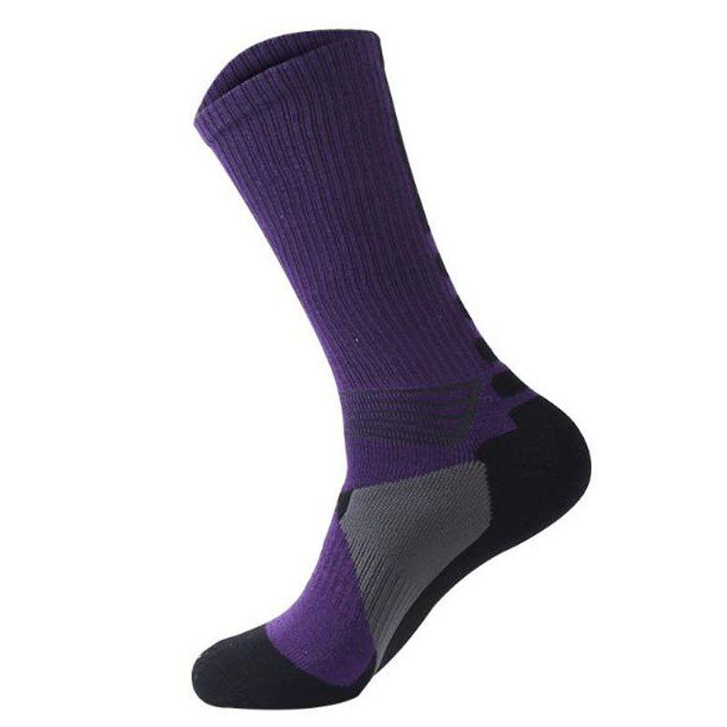 New Professional Basketball Socks Men Compression Long Tube Sock Outdoor Sport Towel Socks Athletic Sport Running Socks