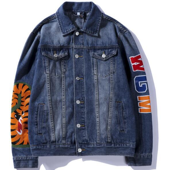 New Denim Jacket Autumn Spring Hot Sale Woman Man Jacket Fashion