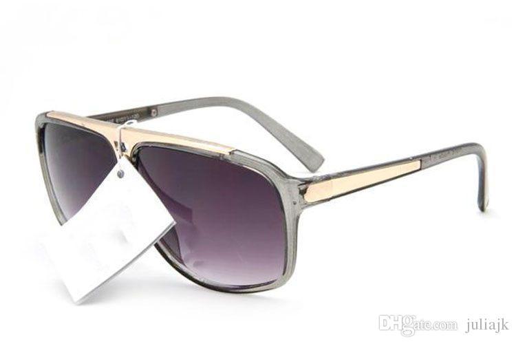 Berühmter Entwurfweinlese-Markenname Beweis-Sonnenbrille Millionärmodell Lunettes Qualitätsmannfrauensommer im Freien sunwear