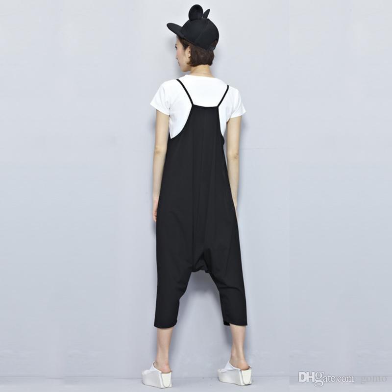 2018 Pregnant Women Plus Size Slip Overalls Bib Pants Trousers