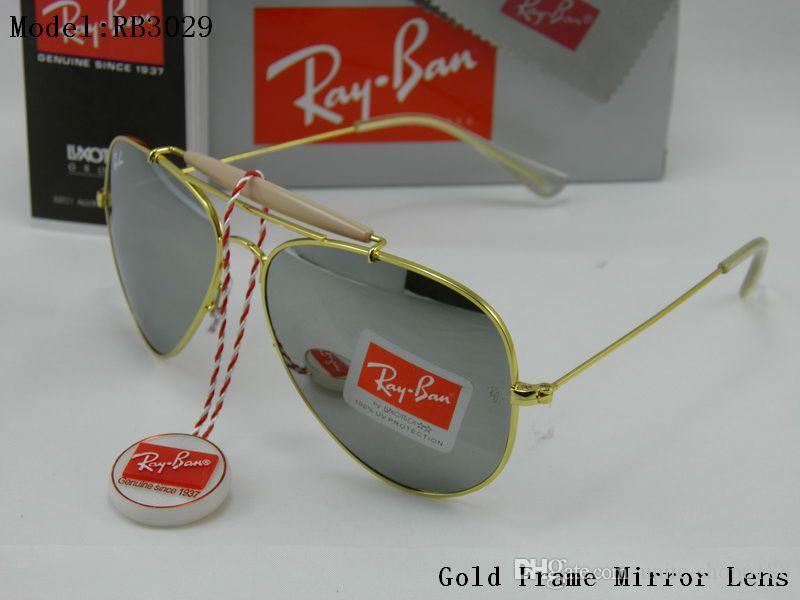 086dde423e Compre Nuevas Gafas De Sol Para Hombre Gafas De Sol Para Mujer Gafas De Sol  De Marca Diseñador Lentes De Sol 100% De Vidrio 3029 Tirador Gafas De Sol  Con ...