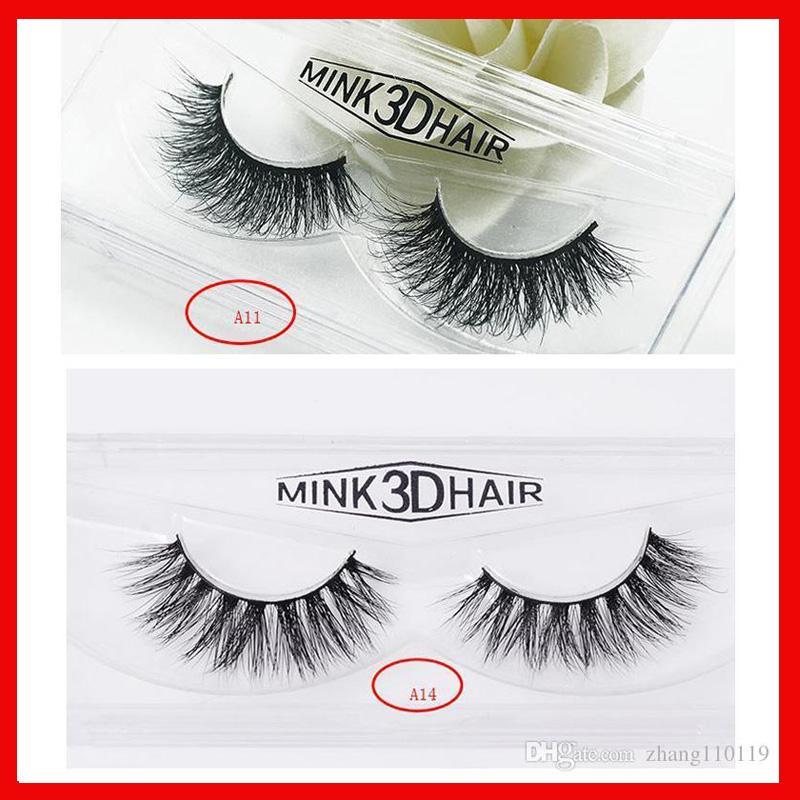 1266dde38ba 20styles Newest 3D Mink False Eyelashes Makeup 100% Real Mink ...