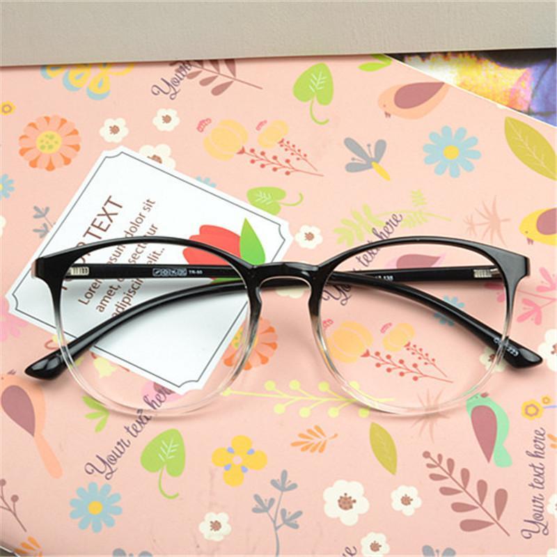 d91d760bb65f Vazrobe Tr90 Round Glasses Frame Men Women Fashion Eyeglasses for ...