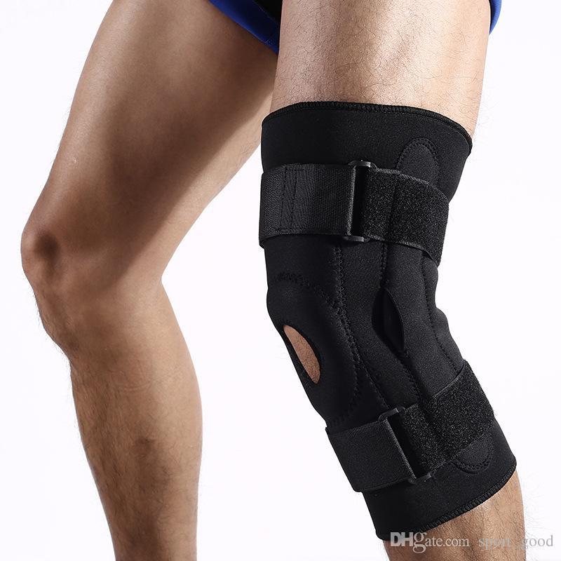 Dupla ao ar livre apoio de alumínio joelheiras respirável alpinismo proteção ao ar livre em execução esportes protetores de joelho de segurança para venda