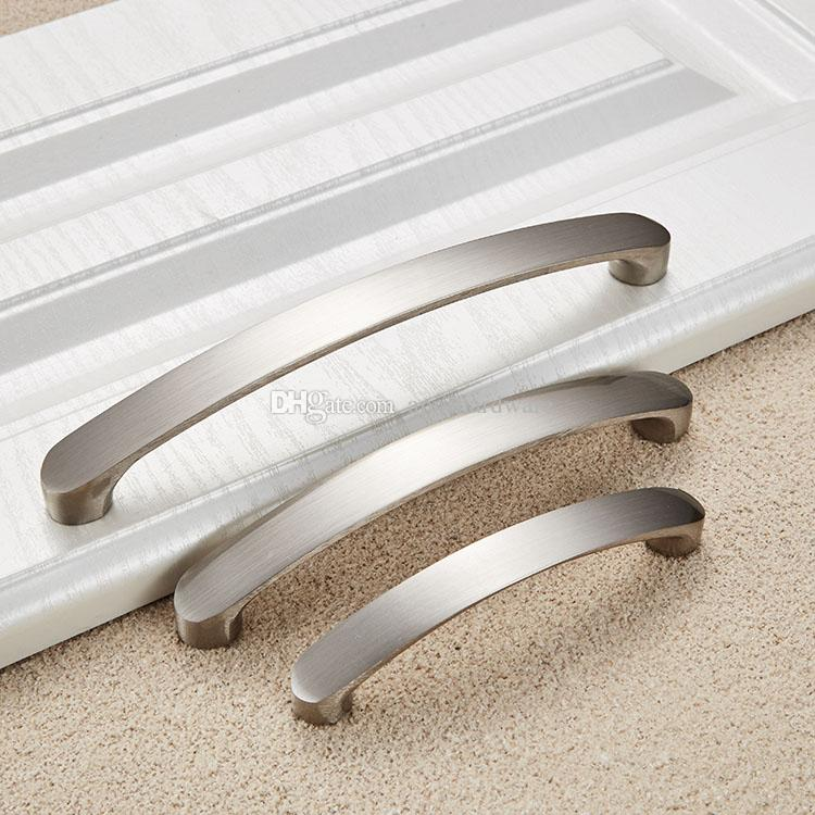 160mm Nickel Brushed Kitchen Cupboard Cabinet Wardrobe Door Drawer ...