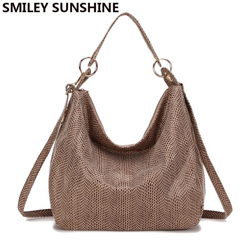 SMILEY SUNSHINE Women Handbag Tote Bags Female Classic Serpentine ... b85d2515d35f6