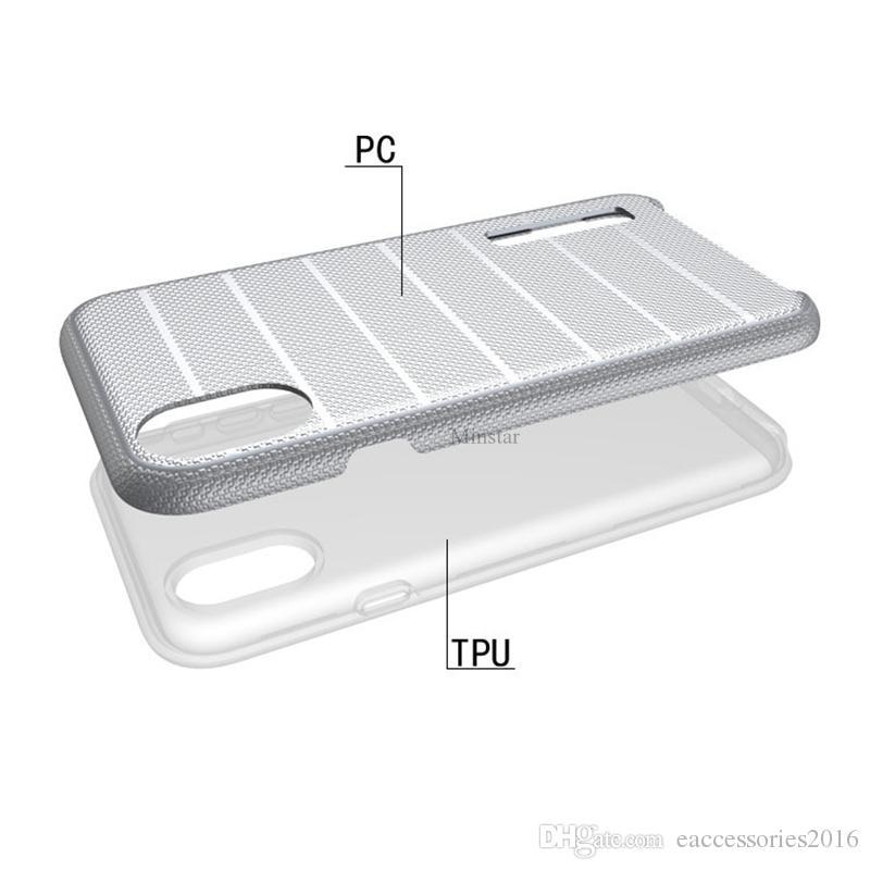 Caseology Pour Samsung Téléphone Case S10 5G S10e S9 S8 Note 9 iPhone Xs Max Xr 7 Plus 5s Anti-Drop Rugueux Protecotive Couverture