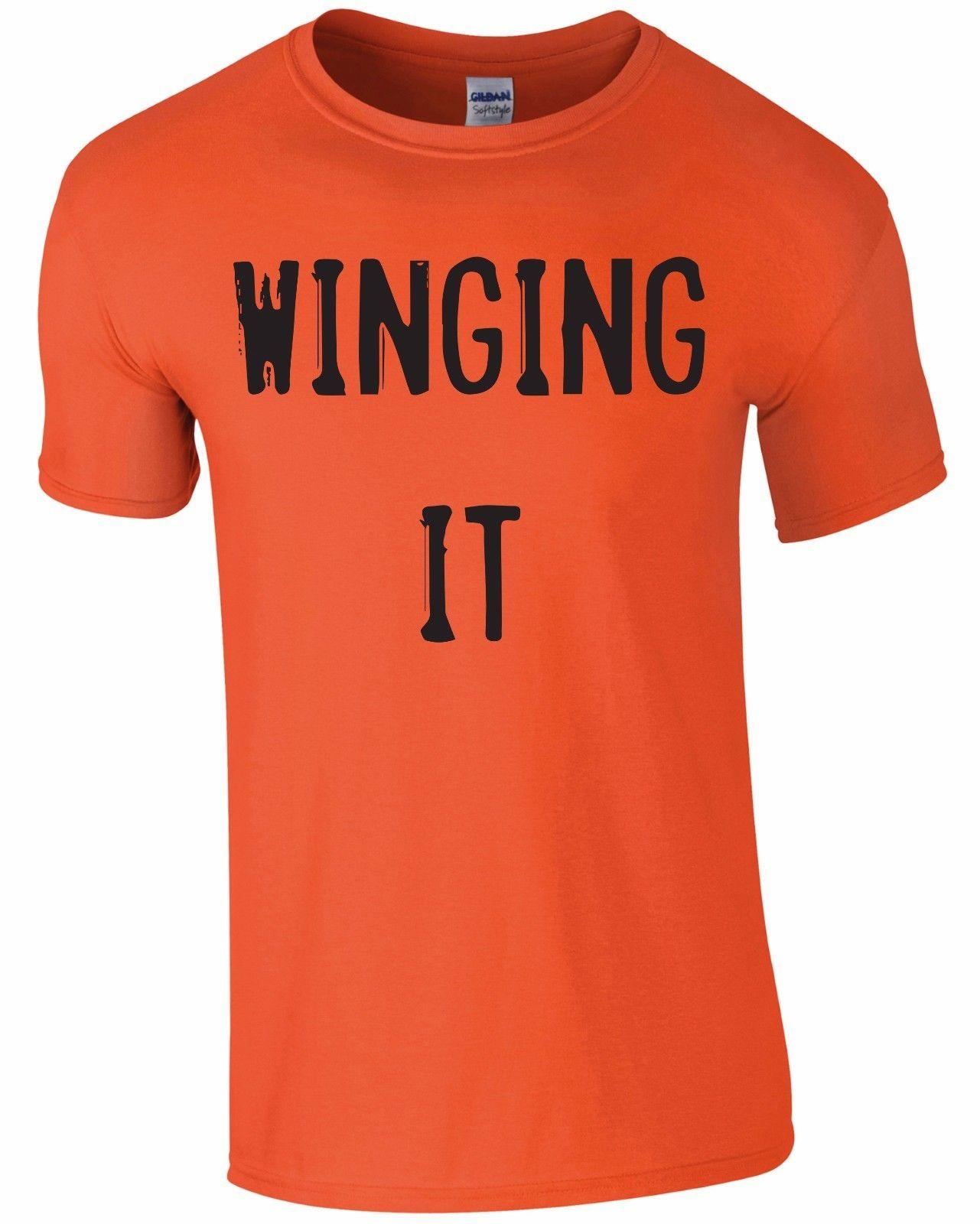 78dba6cc Winging It Mens Tee T ShirtFunny Unisex Casual Gift Shirt Online Cartoon T  Shirts From Free_will_shirts, $12.96| DHgate.Com