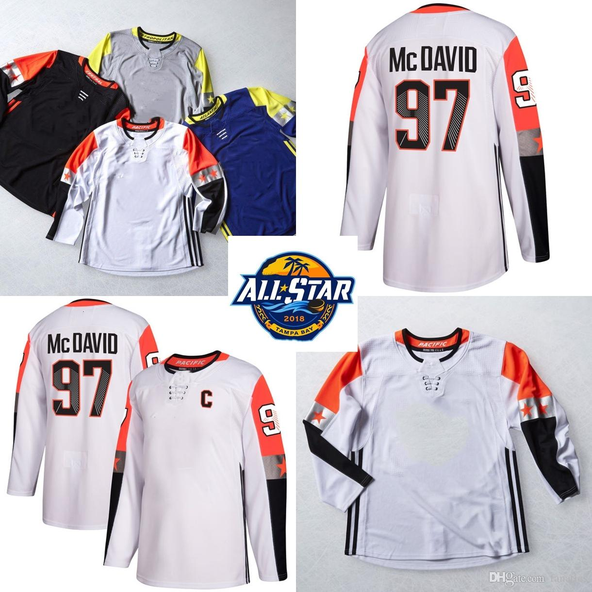 d2143834dd1 Mens 2018 All-Star AD Pacific Division 97 Connor McDavid Jonathan ...
